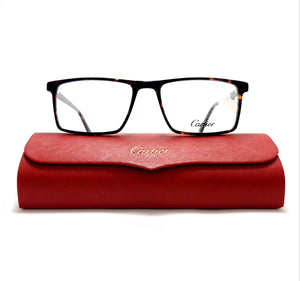كارتيه EyeGlasses Rectangle For Men - A1038#
