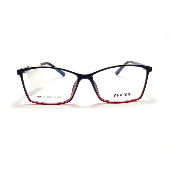 ميوميو  - Rectangle  Women eyeglasses MM713#