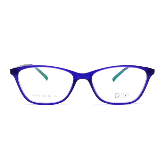 ديور rectangle  lenses  Women eyeglasses D8292
