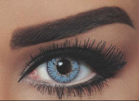 بيلا ناتشورال Cosmetic contact lenses - Gray Blue