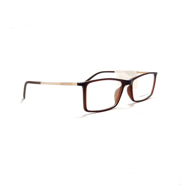 بورش ديزاين Eye Glasses  Rectangle lense For men  - #8296