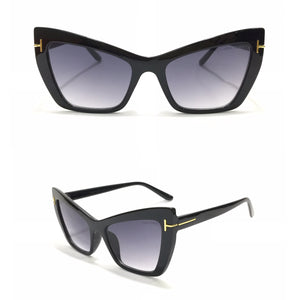 توم فورد  Eyecat Black Sunglasses