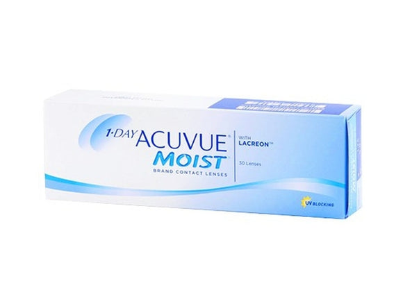 1 Day ACUVUE Moist Brand Contact Lenses   2020
