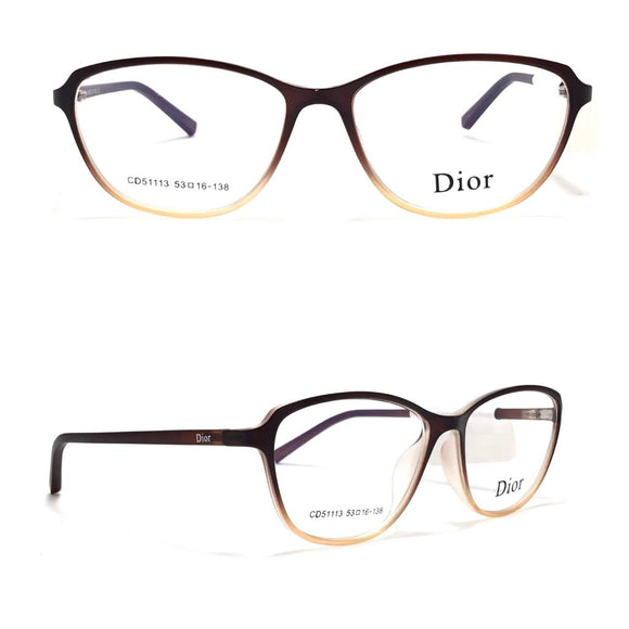 ديور  -cateye lenses  Women eyeglasses CD51113
