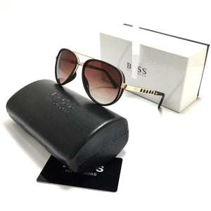 هوجو بوس brown sunglasses for men