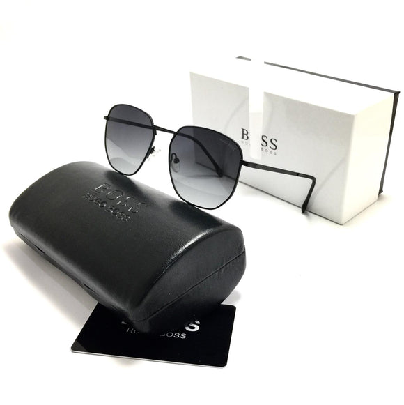 هوجو بوس black sunglasses unisex