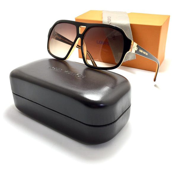 لويس فيتون brown for men sunglasses