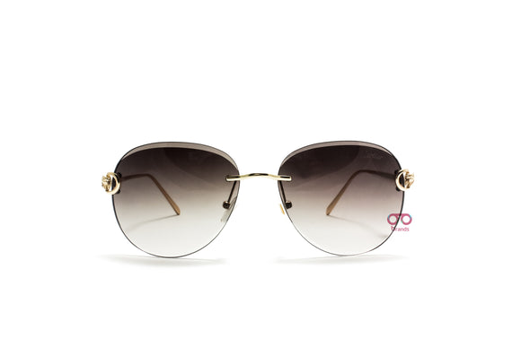 كارتيه SunGlasses Oval lanse For Men - TG628#