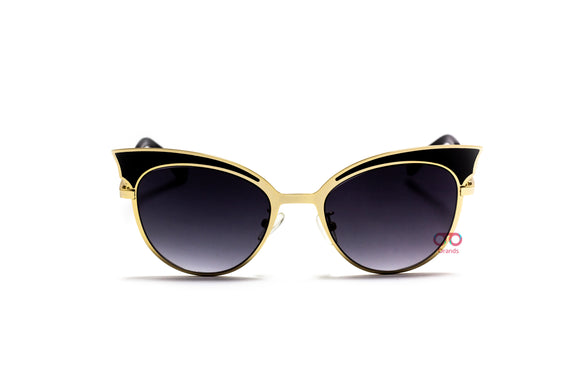 فيندى -  Cat eye lenses  Women Sunglasses ff0085#