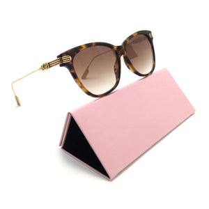 جوتشي OVAL frame sunglasses GG8065#