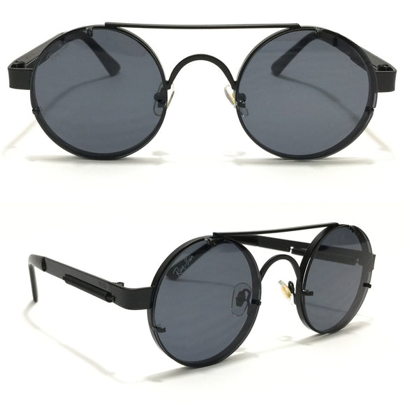 ريبان Round Black  sunglasses rb9014#