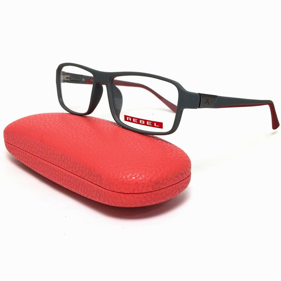 REBEL - squared frame men eyeglasses - ريبيل