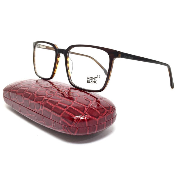 مونت بلانك - squared frame - men eyeglasses
