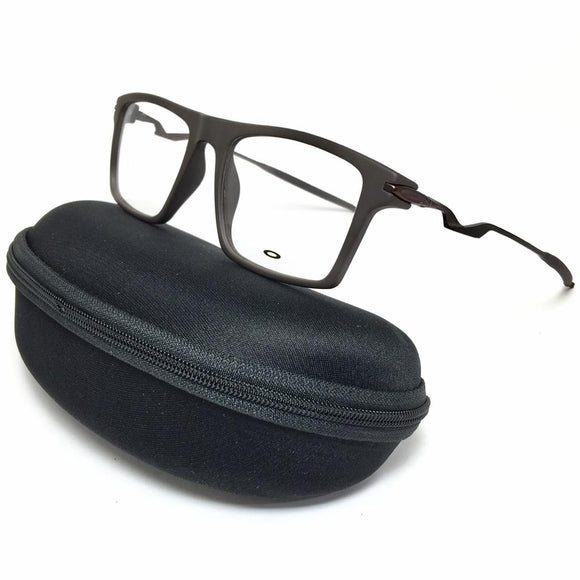 Okley - squared frame men eyeglasses - اوكلى