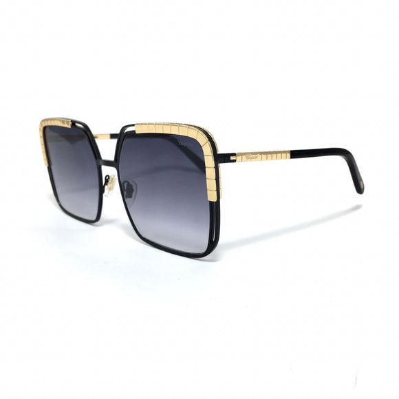 شوبارد - squared black lens - women sunglasses