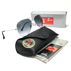 ريبان rb3025 aviator sunglasses