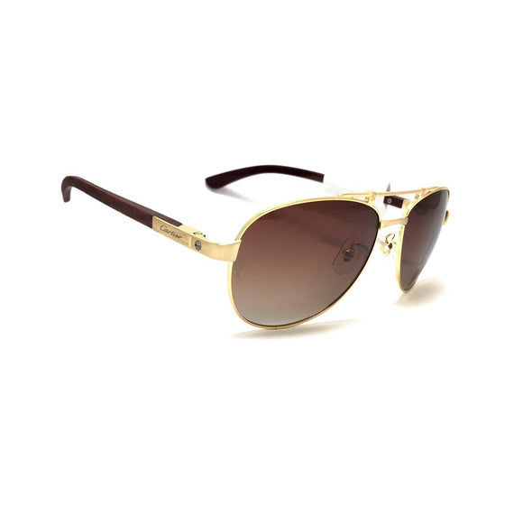 كارتيه SunGlasses Oval lense For Men - ct00101s#