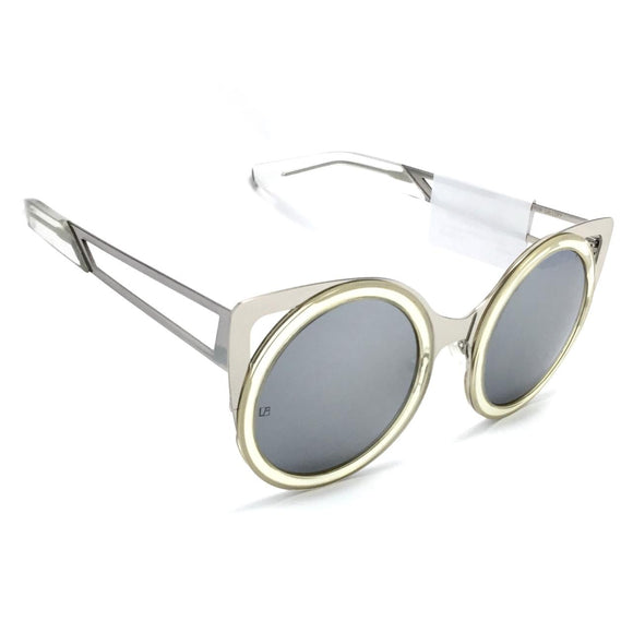 silver sunglasses for women #erdem