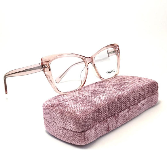 شانيل   Cateye  Women Eyeglasses #2002C3