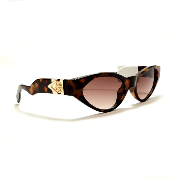 فيرزاتشى - cat eye brown lens - women sunglasses VE4373#