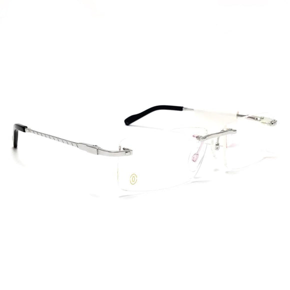كارتيه  - Regtangle  lenses   eyeglasses TATANIUM 1200#