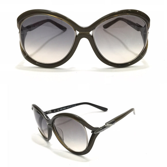 توم فورد Butterfly Brown Sunglasses