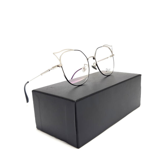 ديور Cateye    lenses  Women eyeglasses 9158