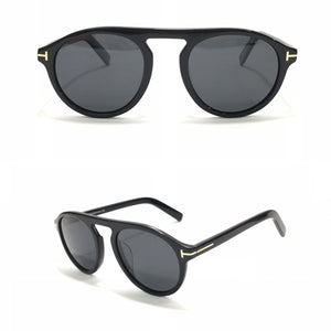 توم فورد  Circle Black Sunglasses