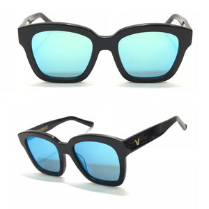 جنتل مونستر Black Sunglasses with Blue Lens Sunglasses For Women