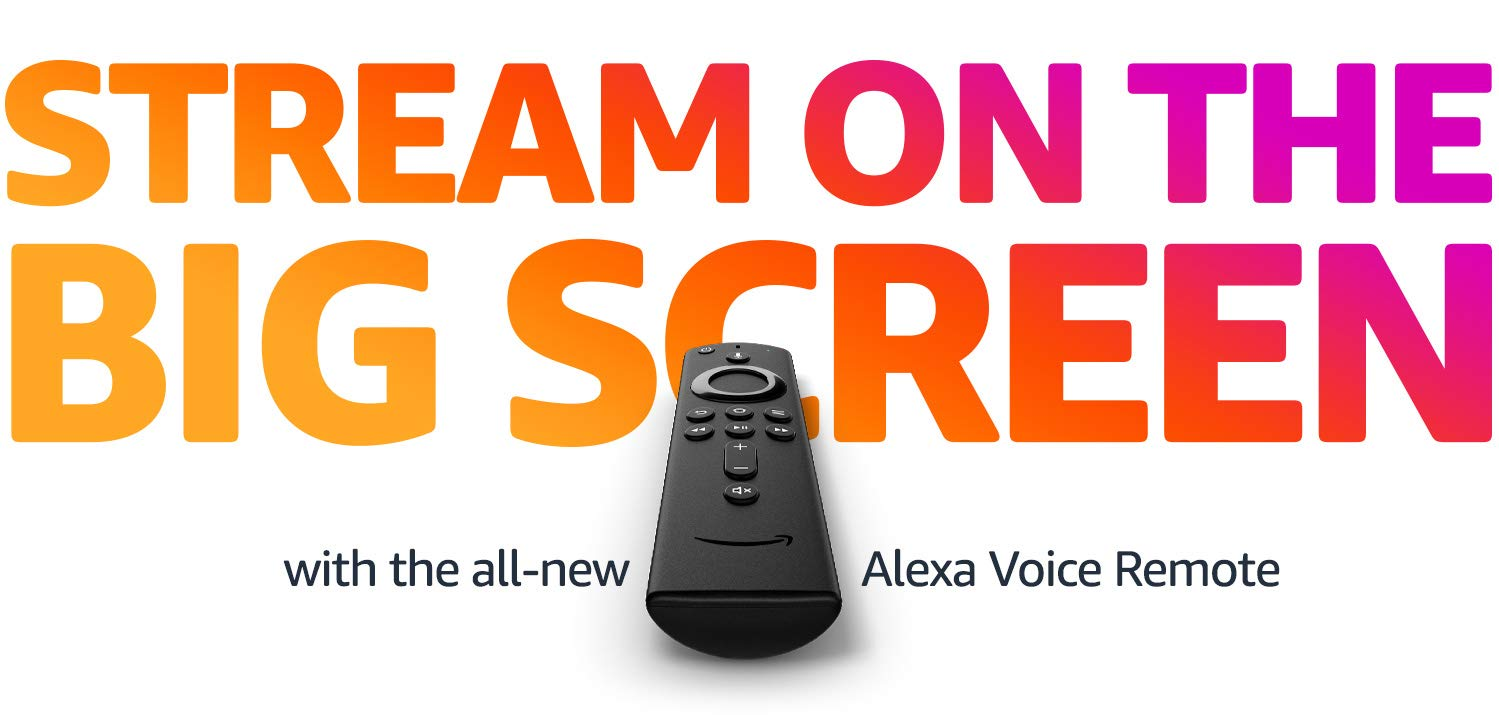 Stream on the Big Screen with all-new Alexa Voice Remote | Amazon Fire TV Stick