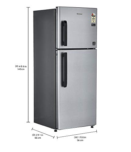 Whirlpool 245 L 2 Star Frost Free Double Door Refrigerator