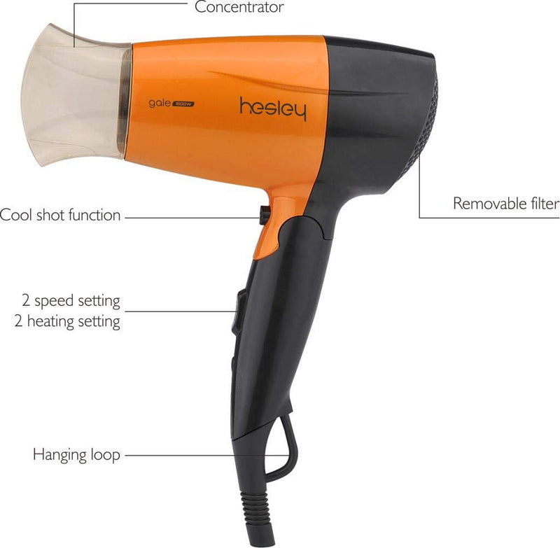 HESLEY HAIR DRYER 1600 WATTS GALE