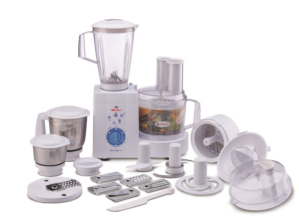 Bajaj MasterChef 3.0 600-Watt Food Processor with 3 Jars