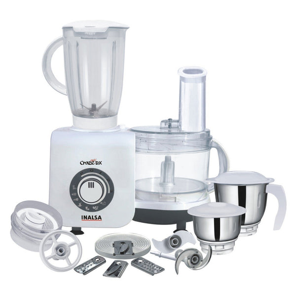 Inalsa Craze Dx 700-Watt Food Processor