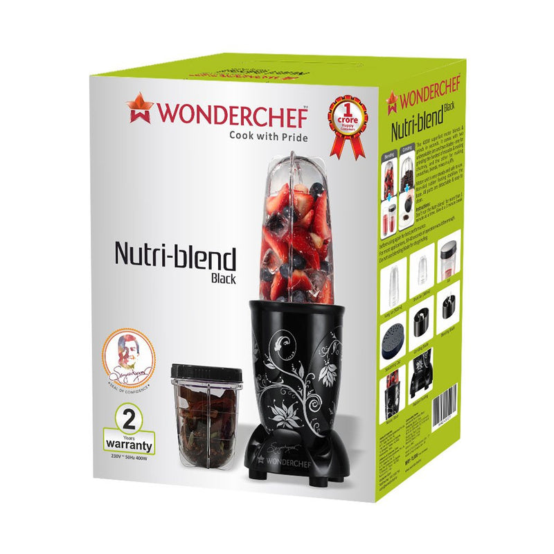 Wonderchef 400 Watt Nutri-Blend Mixer Grinder