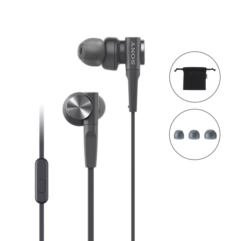 Sony MDR-XB55AP Extra Bass in-Ear Headphone with Mic