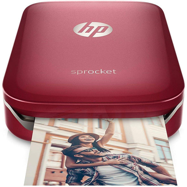 HP Sprocket Portable Photo Printer (Red)