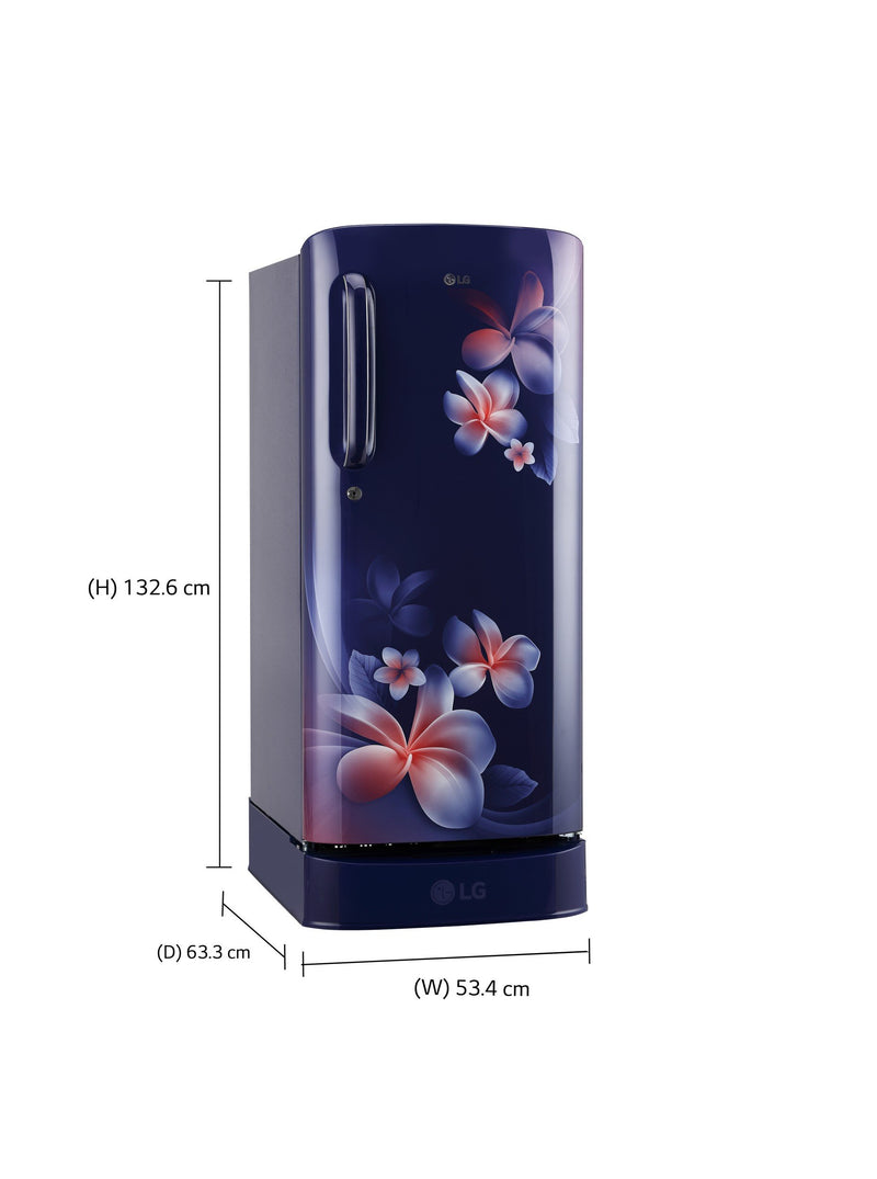 LG 190 L 4 Star Direct Cool Single Door Refrigerator