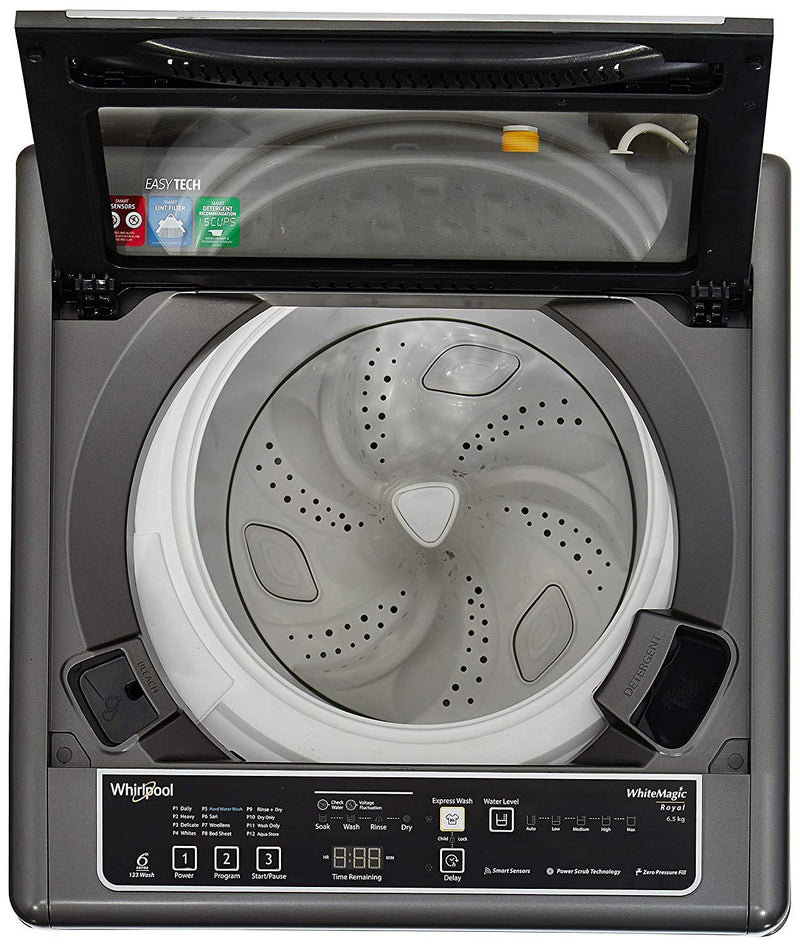 Whirlpool 6.5 kg Fully Automatic Top Loading Washing Machine