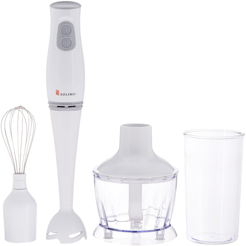 Amazon Brand Solimo 200 Watt 3-in-1 Hand Blender