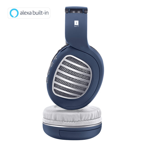 iBall Decibel BT01 Smart Headphone with Alexa Enabled