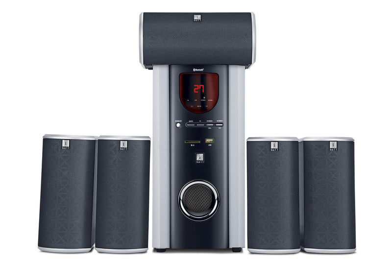 iBall Booster BTH - 5.1 Channel Multimedia Bluetooth Speakers