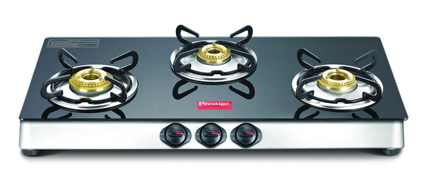 Prestige Marvel Plus Stainless Steel 3 Burner Gas Stove