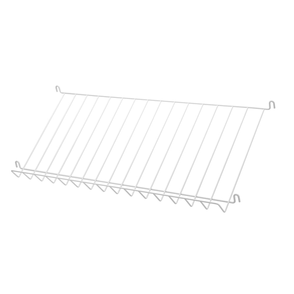 Magazine Shelf Wire (Revistero alambre) 78/30/15 White (Pack de 1)
