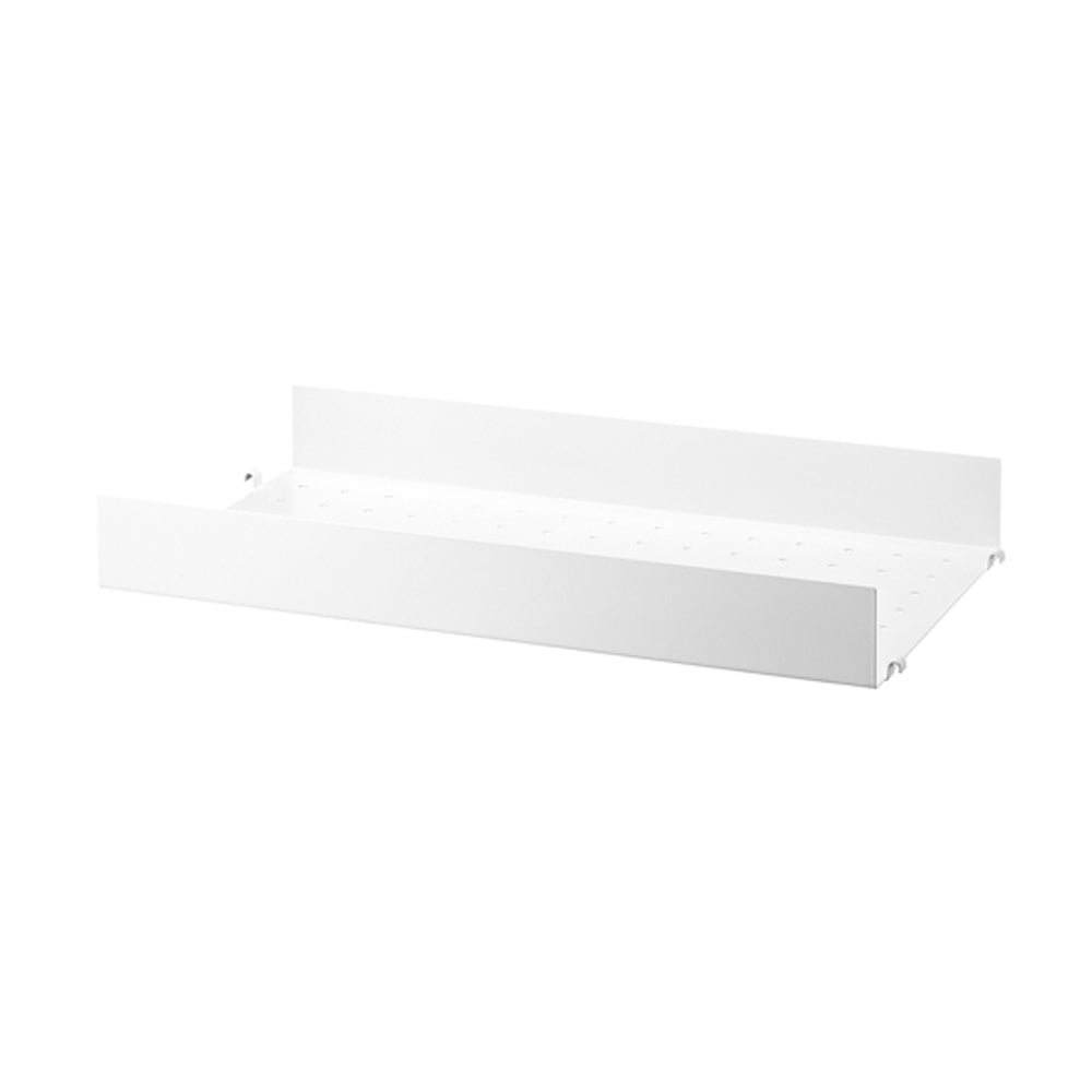 Metal Shelf High 58/30 White (Pack de 1)