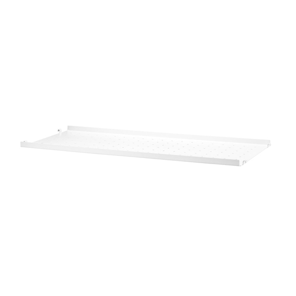 Metal Shelf Low 78/30 White (Pack de 1)