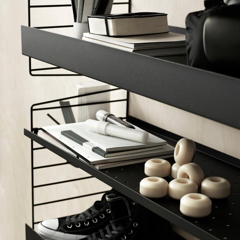 Metal Shelf High 78/30 Black (Pack de 1)