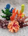 1pc Resin Fish Tank Landscape Aquarium Decoration Artificial Coral Cute Colorful Coral Fish Aquatic Ornament