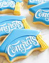 KENIAO Graduation Cap Cookie Cutter