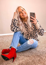 Load image into Gallery viewer, Smitten Leopard Print Sweater